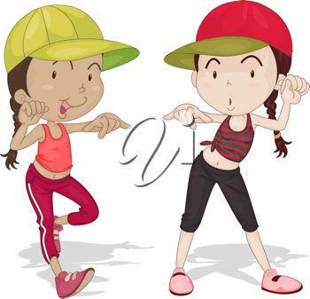 Two Girls Clipart - Clipart Kid