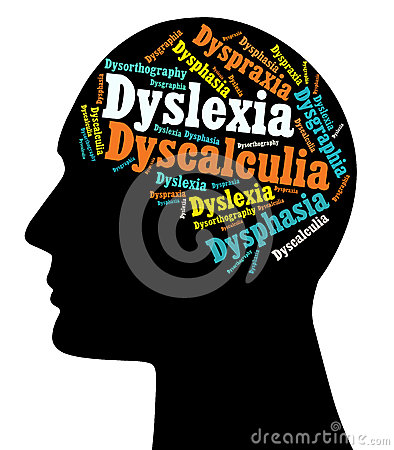 Dyslexia Learning Disabilities Royalty Free Stock Photography   Image