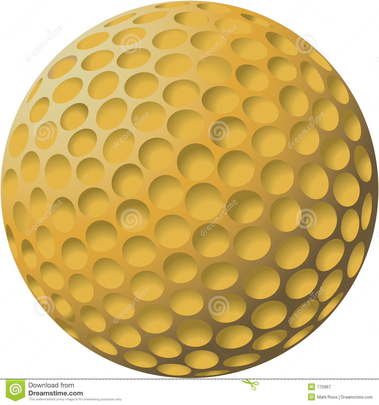 pictures of golf balls clipart - photo #30