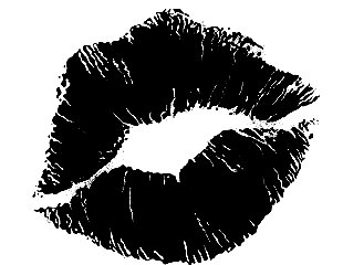 Kiss Lips Black And White Images   Pictures   Becuo