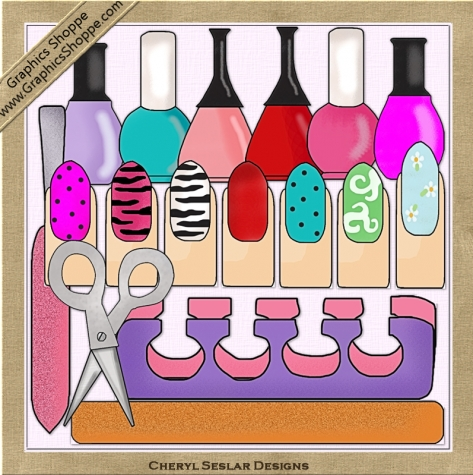 Ricerche Correlate A Manicure And Pedicure Clipart Free