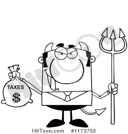 Tax Money Black And White Clipart - Clipart Suggest