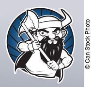 Viking Vector Clipart En Illustraties