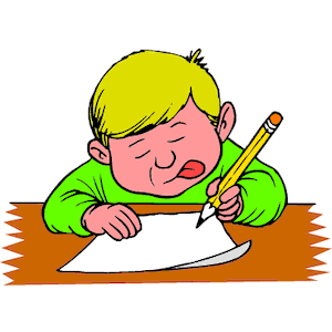 Boy Writing Clipart Cliparts Of Boy Writing Free Download  Wmf Eps