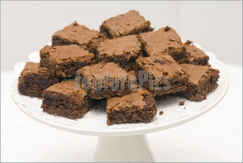Chocolate Brownie Clip Art