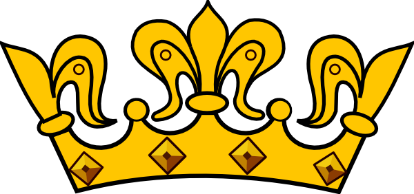 Gold Tiara Clipart - Clipart Kid