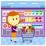 Grocery Store Aisle Stock Illustrations Vectors   Clipart    61