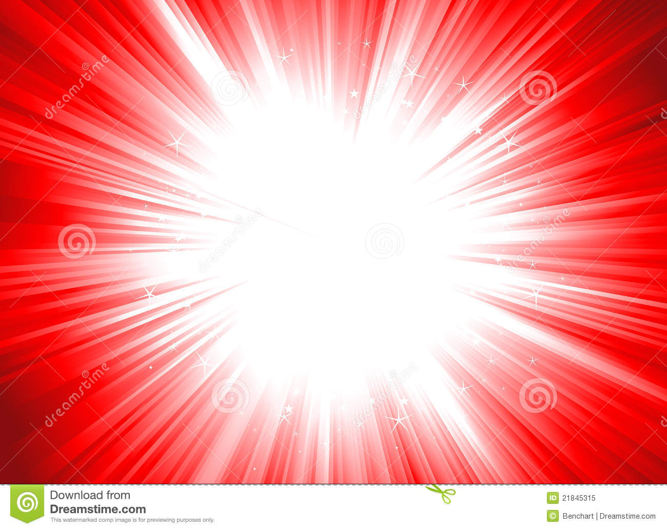 Illustration Of A Christmas Shiny Starburst  Dynamic Editable Colors