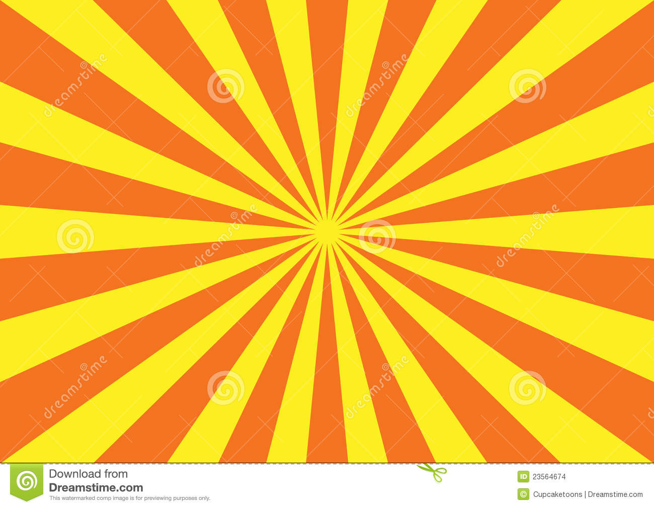 Orange Yellow Starburst Pattern Stock Images   Image  23564674