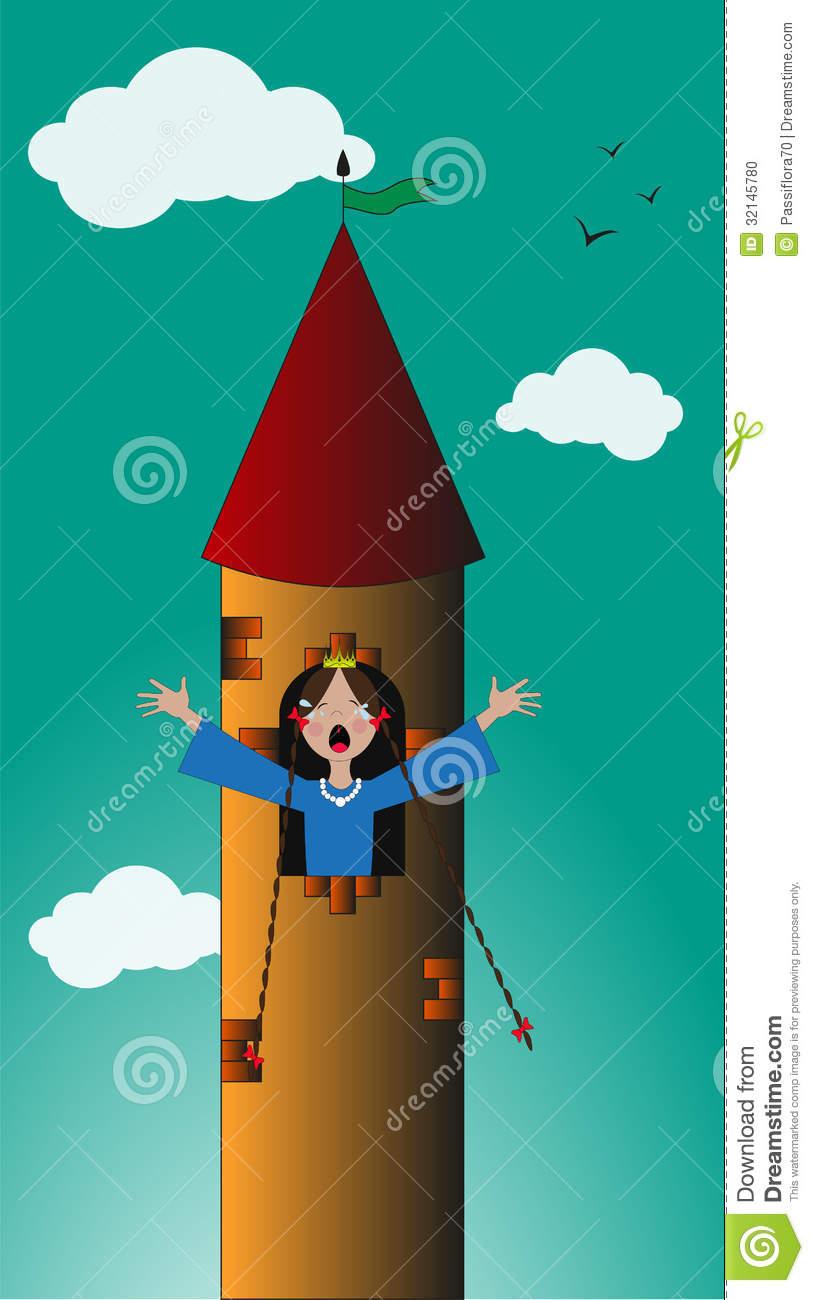 Princess tower clipart clipart suggest - Images princesse ...