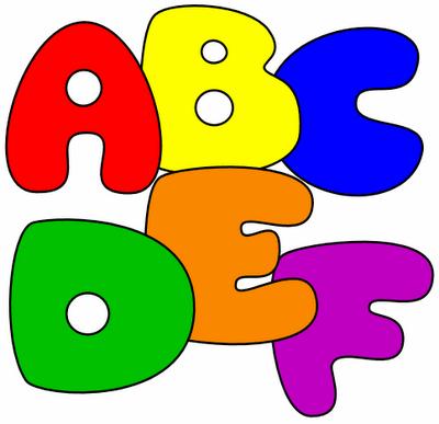 15 Bubble Letters Clipart - Clipart Kid