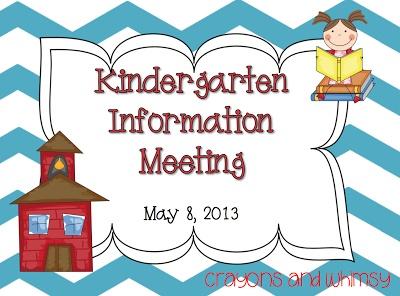 Sharing Information With Parents   Kindergarten   Pinterest
