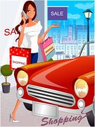 Shopping Car Store Aisle Illustrations And Clip Art  15 Shopping Car