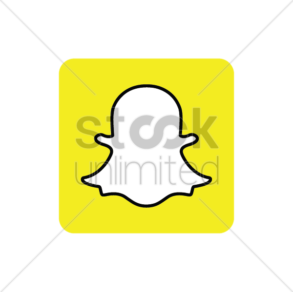 snapchat logo clipart clipart suggest