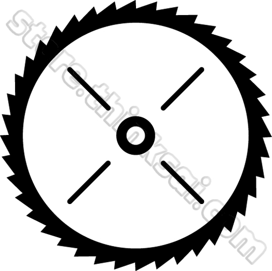 Tools Saw Blade Saw Blade Illustration
