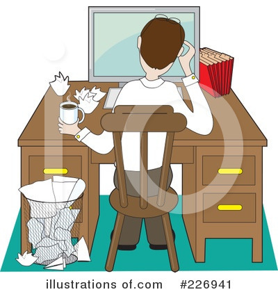 Work Clipart  226941 By Maria Bell   Royalty Free  Rf  Stock
