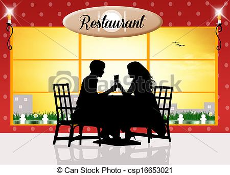 dinner for two clip art � cliparts