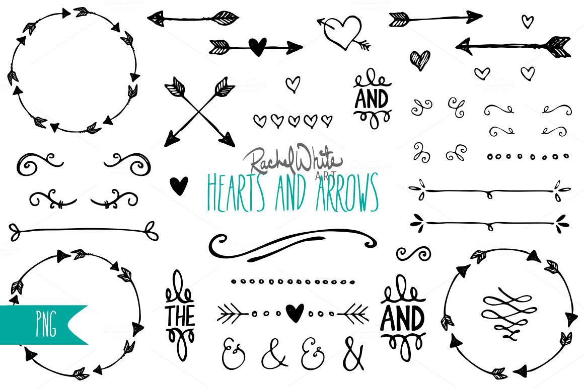 Black And White Mason Jar Clip Art Hearts Arrows Clip Art