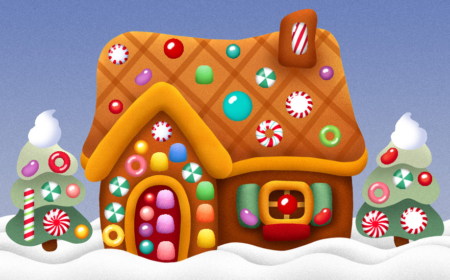 christmas clip art gingerbread house - photo #34
