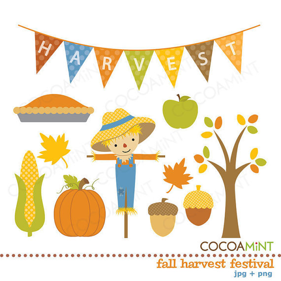 Fall Harvest Festival Clip Art By Cocoa Mint   Catch My Party