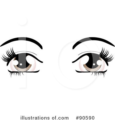 Pair Of Eyes Clipart