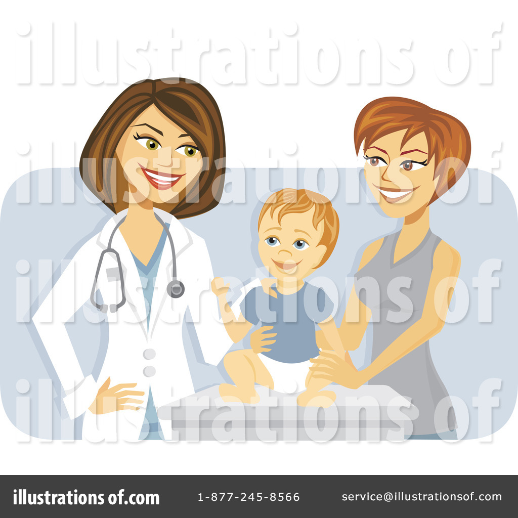 Pediatrician Clipart  1107513   Illustration By Amanda Kate