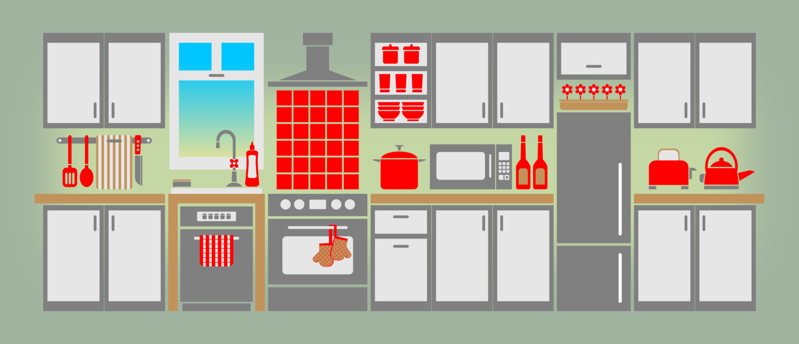 Simple Kitchen By Viscious Speed On Deviantart
