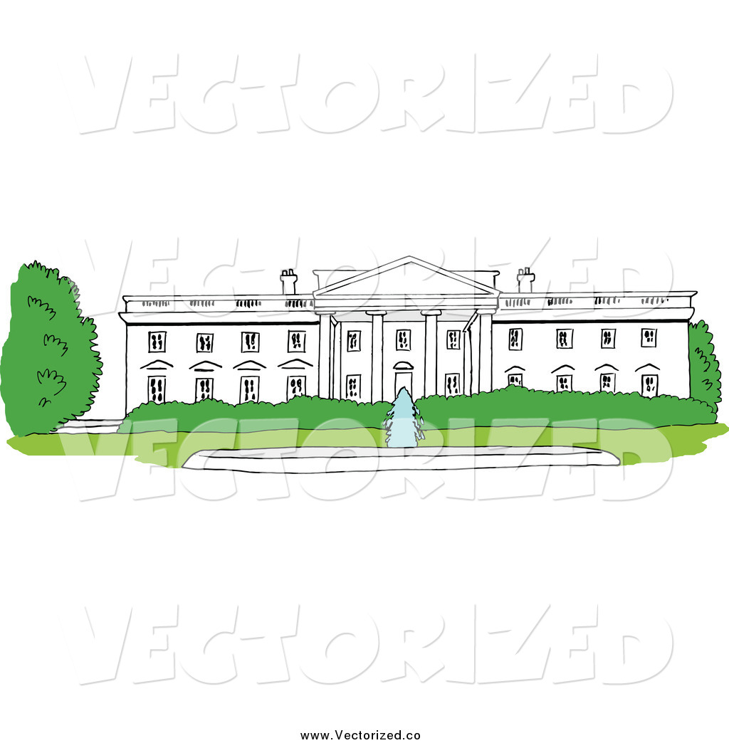 White House Clipart Clipart Of The White House