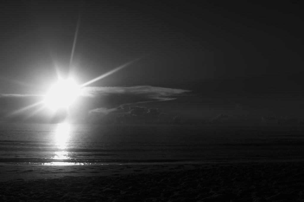 sunrise black and white clipart clipart suggest