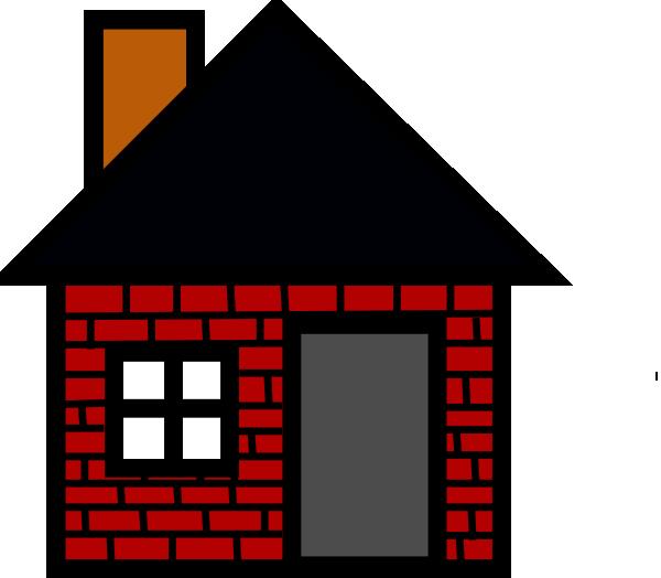 Brick House Clip Art At Clker Com   Vector Clip Art Online Royalty