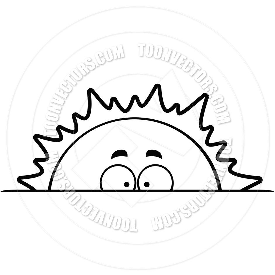 Line Drawing Sunrise : Sunrise black and white clipart suggest