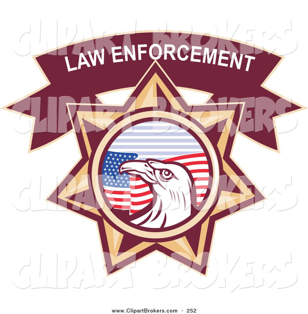 Enforces Laws Clip Art