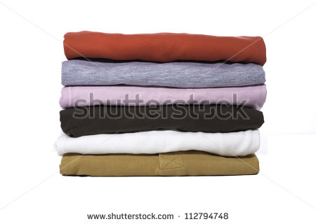 Fold Clothes Clipart A Stack Of Folded Shirts