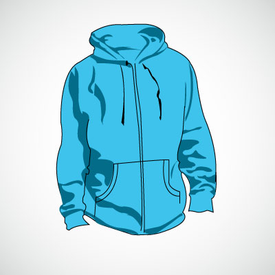 Free Hood Jacket Vector Files   Clipart Me