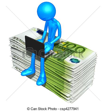 Online Payment Clipart Online Banking   Csp4277941