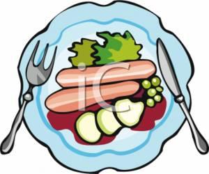 Clip Art Plate Of Food Clipart plate of food clipart kid panda free images