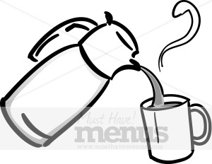 Pouring Coffee Clipart   Coffee Clipart