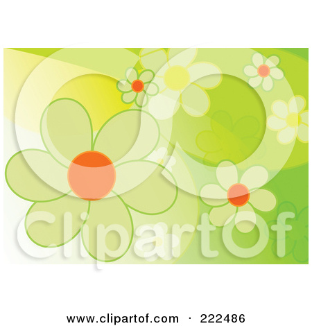Royalty Free  Rf  Clipart Illustration Of A Beautiful Spring