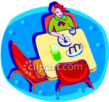 Women Eating Clipart   Cliparthut   Free Clipart