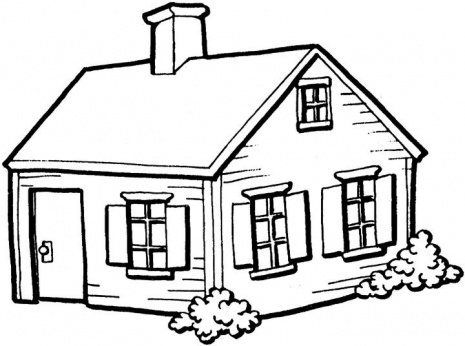14 Simple House Drawing For Kids Free Cliparts That You Can Download