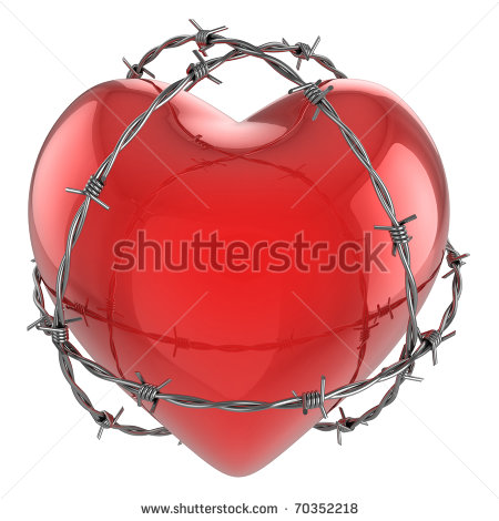 Barbed Wire Heart Clip Art