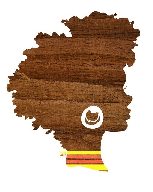 Black Woman Afro Silhouette Image Search Results