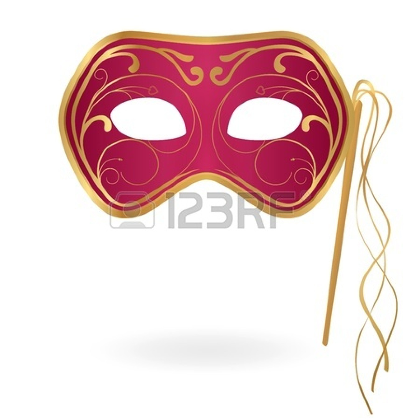 Carnival Clipart Black And White 12489547 Carnival Mask Vector