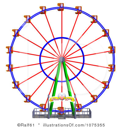 Carnival Clipart Black And White Royalty Free Ferris Wheel Clipart