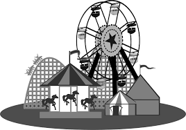 Carnival Games Clipart Black And White   Happy With Game   Happy With