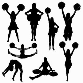 Cheerleading Toe Touch   Clipart Panda   Free Clipart Images