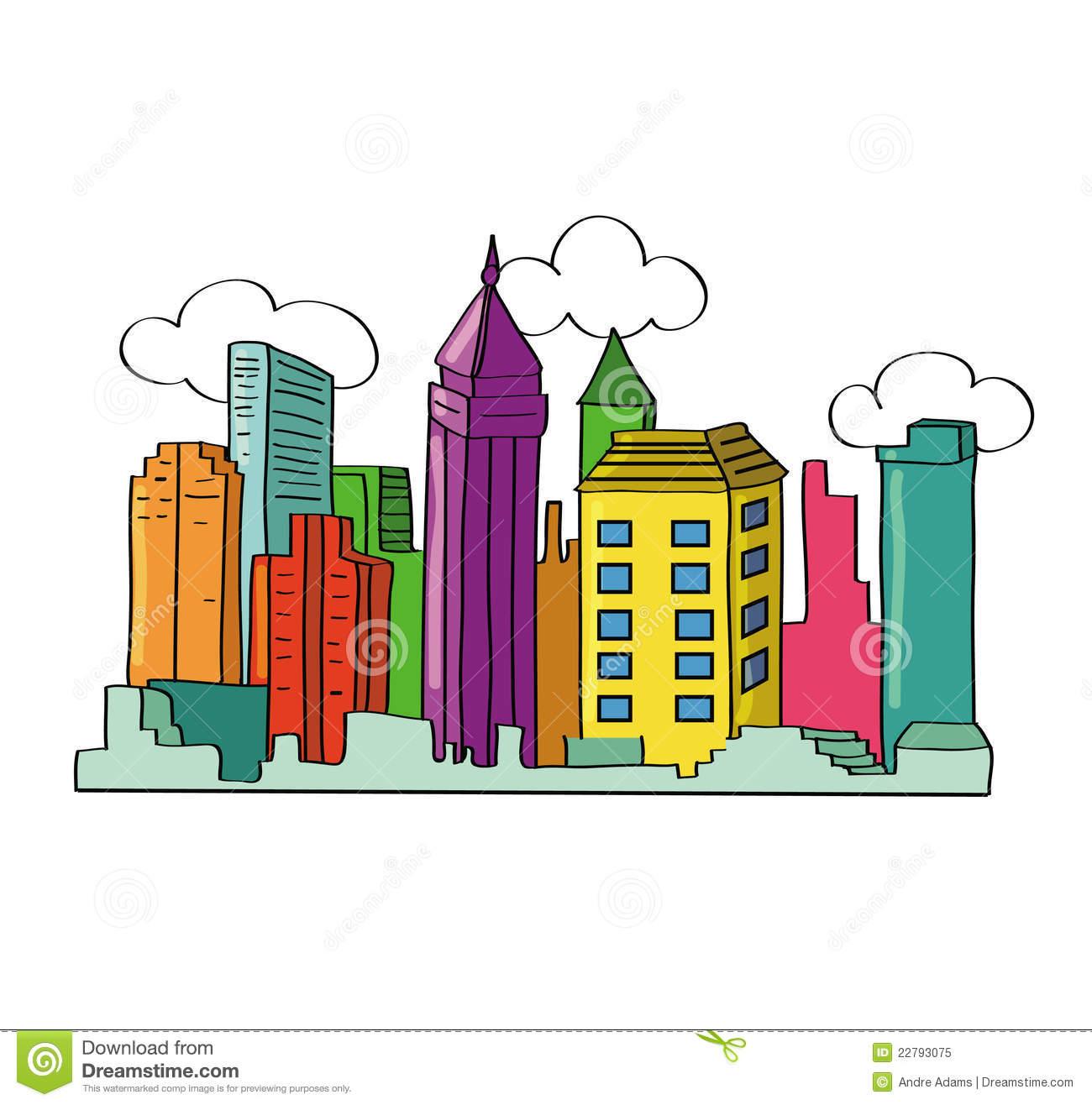 City Skyline Royalty Free Stock Photo Image 22793075 # ...