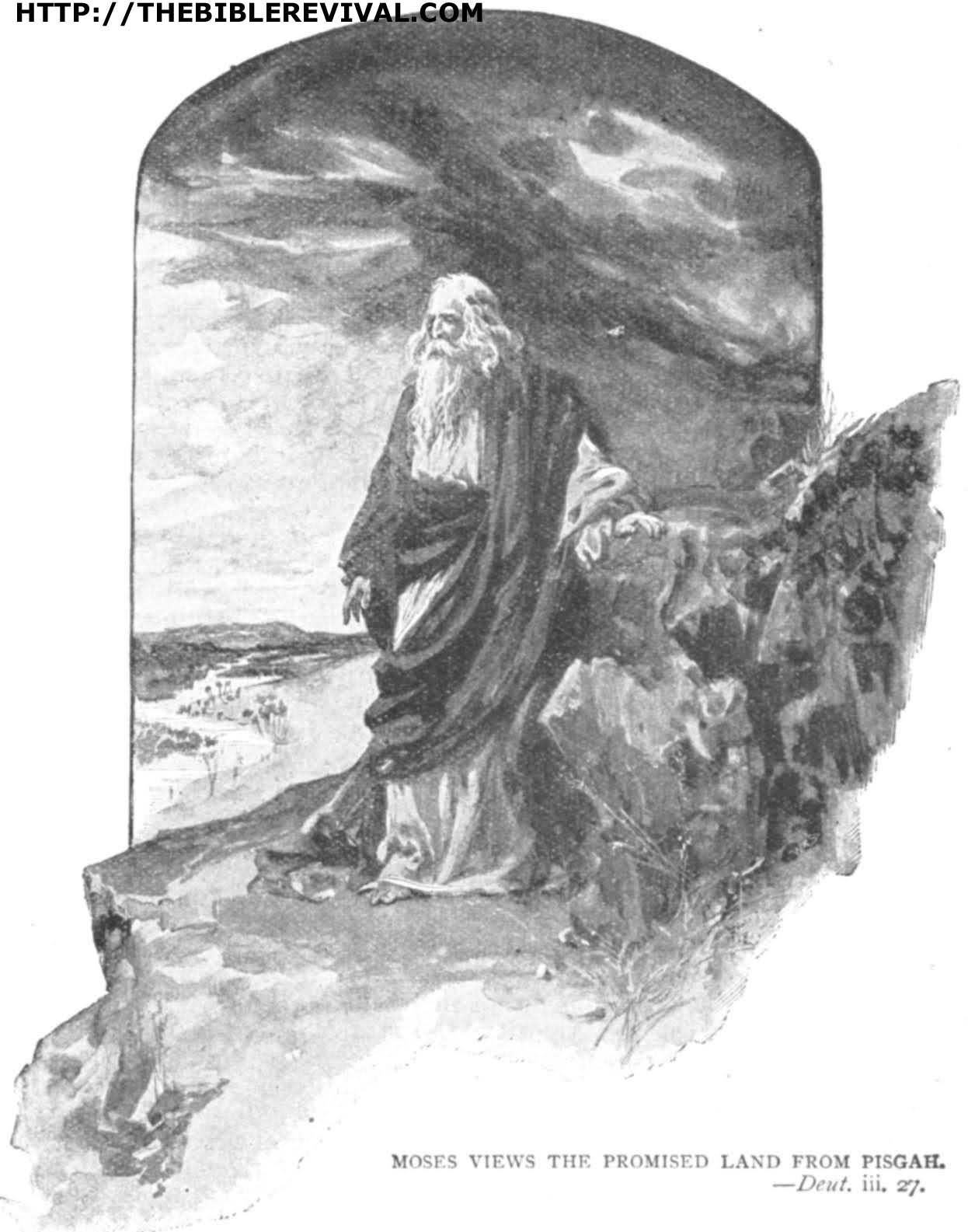 Deut 3   Moses Views The Promised Land