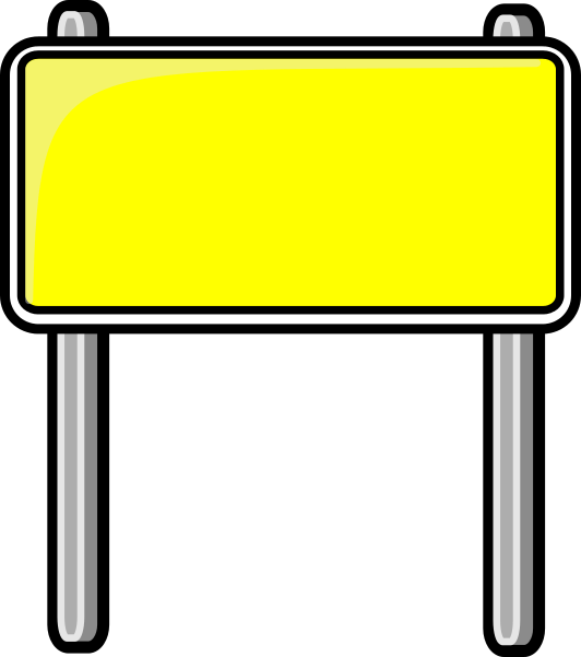 Highway Road Signs Clipart - Clipart Kid