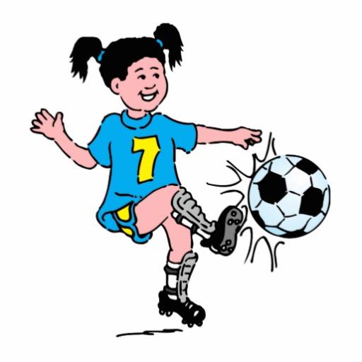 Women Soccer Clipart - Clipart Kid